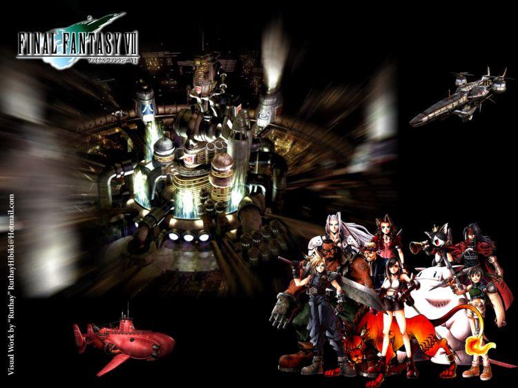 Fonds d'écran Jeux Vidéo Final Fantasy VII Ruthay Final Fantasy VII 01