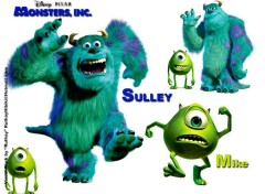 Fonds d'écran Dessins Animés Ruthay Monster Inc. 01