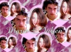 Fonds d'écran Art - Numérique Ma cocotte et son grand amour..