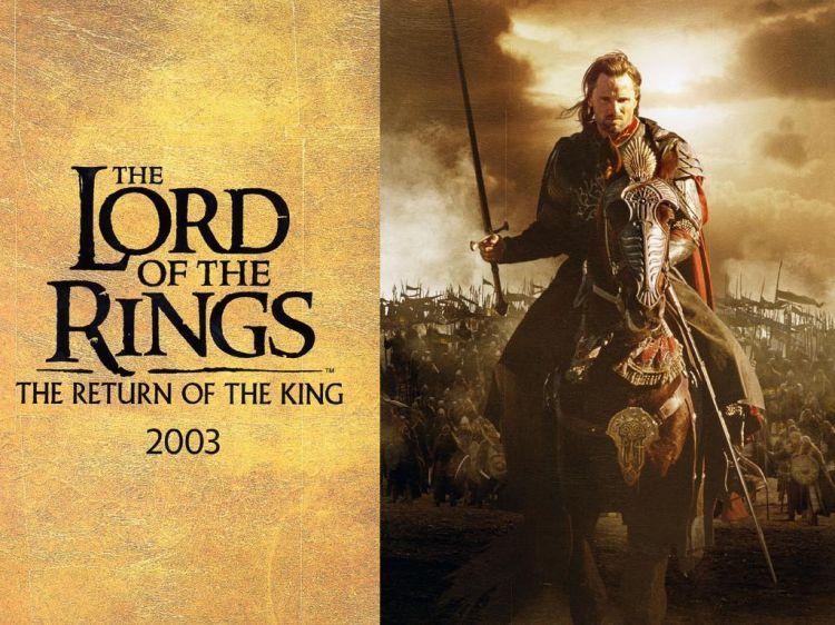 Fonds d'écran Cinéma Le Seigneur des Anneaux : le Retour du Roi Wallpaper N°411