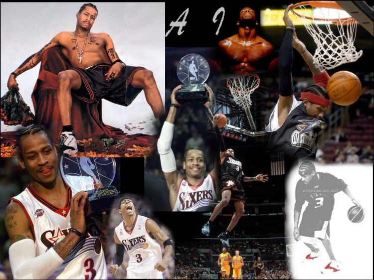 Wallpapers Sports - Leisures Basketball Allen Iverson