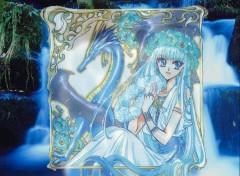 Fonds d'écran Manga magic knight