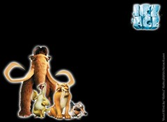 Wallpapers Cartoons Ruthay Ice Age 01