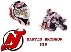 Wallpapers Sports - Leisures Brodeur Mask