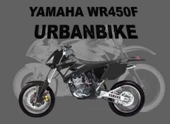 Fonds d'écran Motos Supermotard Yamaha