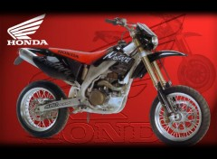 Fonds d'écran Motos Honda CRFe 450 sm