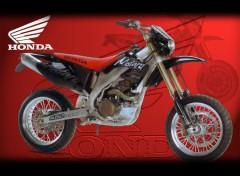 Wallpapers Motorbikes Honda CRFe 450 sm