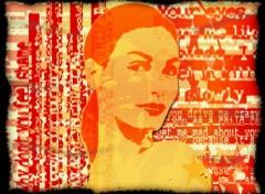 Fonds d'écran Art - Numérique Pop_Girl