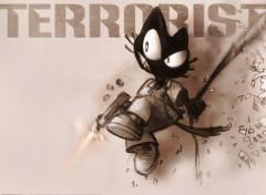 Fonds d'écran Art - Numérique Terrorist !
