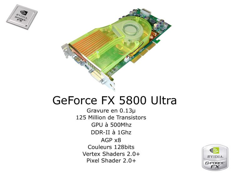 Fonds d'écran Informatique Nvidia GeForce FX