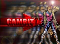 Fonds d'écran Comics et BDs gambit