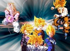 Fonds d'écran Manga dbz