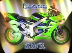Fonds d'écran Motos Kawasaki ZX8r