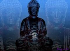 Fonds d'écran Art - Numérique Le Bouddha