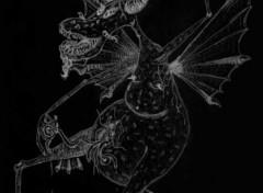 Fonds d'écran Art - Crayon Demon Viscères