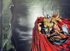 Fonds d'écran Comics et BDs Thor
