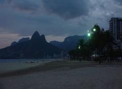 Fonds d'écran Voyages : Amérique du sud Rio - plage d'Ipanema