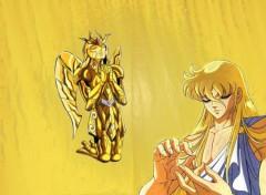 Fonds d'écran Manga Shaka chevalier d'or de la vierge