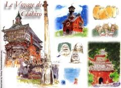 Fonds d'écran Dessins Animés Ruthay Le Voyage de Chihiro 01