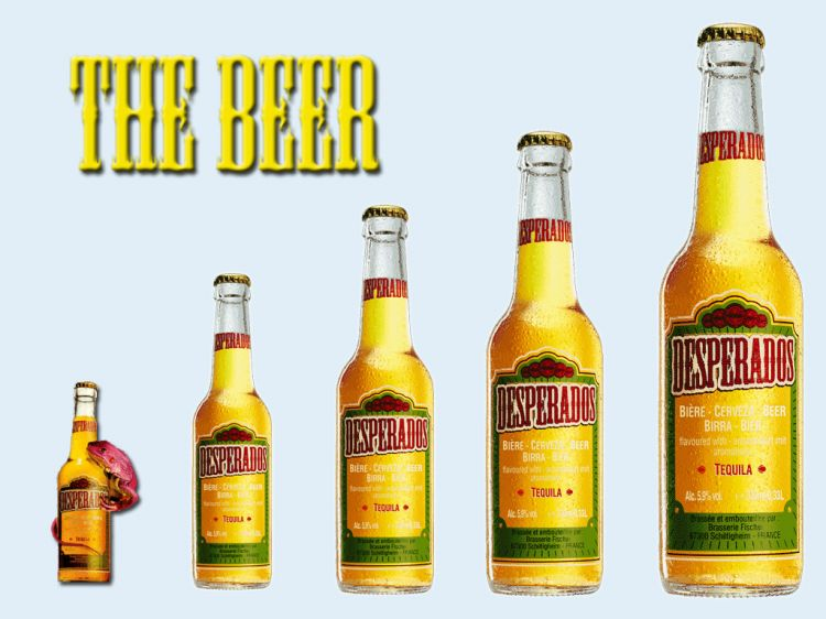 Wallpapers Objects Beverages - Alcohol .: Desperados :.