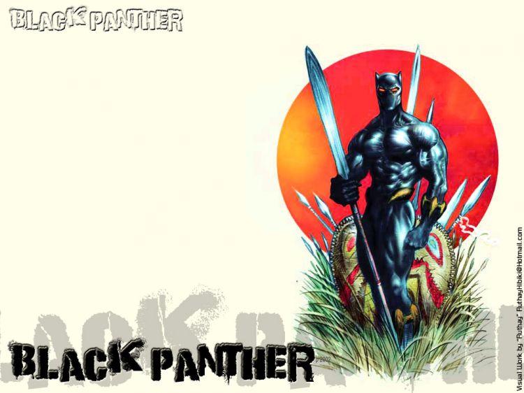 Fonds d'écran Comics et BDs Black Panther Ruthay Black Panther 03