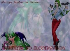 Fonds d'écran Manga Morrigan Aensland the Succubus