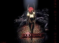 Fonds d'écran Jeux Vidéo BloodRayne the Dhampire