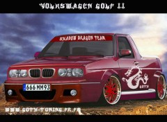 Fonds d'écran Voitures V-W GOLF 2 BY GOTH