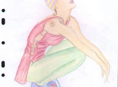 Fonds d'écran Art - Crayon Gravure de mode