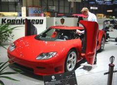 Wallpapers Cars Koenig au Salon de Geneve 2002