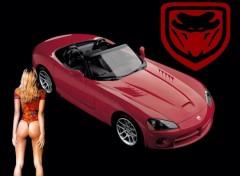 Fonds d'écran Voitures Dodge Viper 2003
