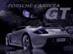 Fonds d'écran Voitures Porsche dragon