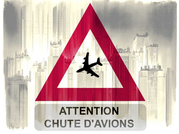 Fonds d'écran Humour Clins D'oeil Attention chute D'avion
