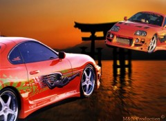 Wallpapers Cars M&N Supra