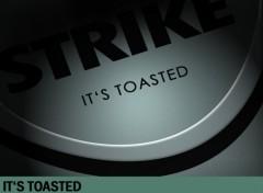 Fonds d'écran Grandes marques et publicité Lucky Strike It's - Toasted