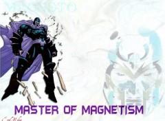 Fonds d'écran Comics et BDs Magneto White