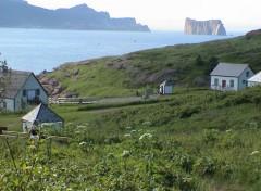Fonds d'écran Nature Maison sur la colline