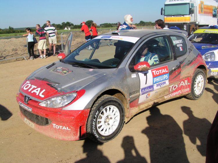 Fonds d'écran Sports - Loisirs Rallye 206 Super 1600