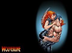 Fonds d'écran Comics et BDs Wolverine's Kiss