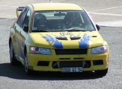 Fonds d'écran Voitures EVO 7 Racing