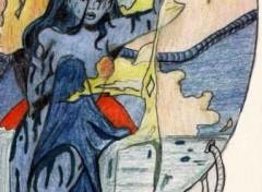 Fonds d'écran Art - Crayon Vénus