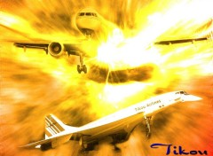 Wallpapers Planes tikou airlines