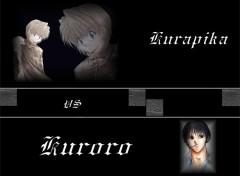 Fonds d'écran Manga Kurapika VS Kuroro