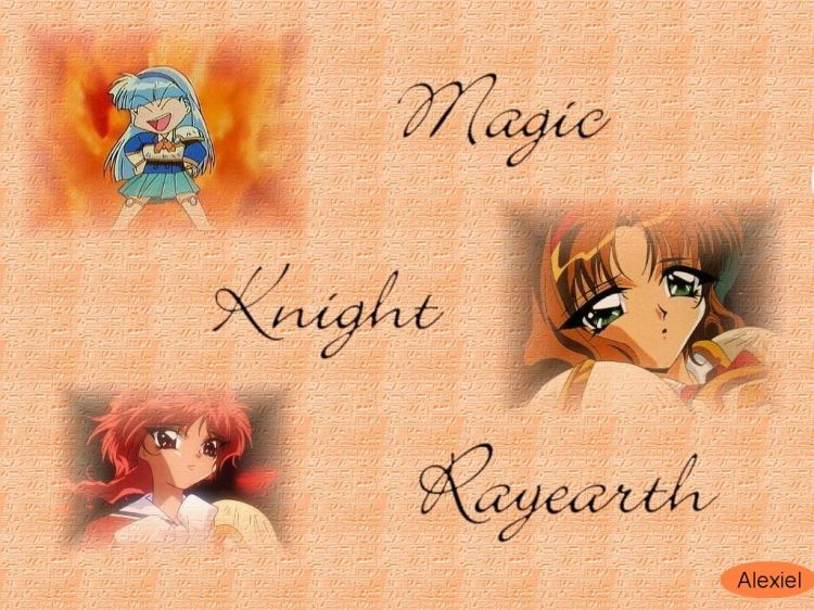 Fonds d'écran Manga Magic Knight Rayearth Magic