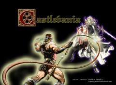 Wallpapers Video Games Simon VS Alucard
