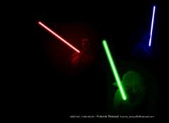 Fonds d'écran Cinéma RGB Jedis Lights