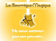 Wallpapers Cartoons La Bourrique Magique