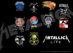 Fonds d'écran Musique Metallica for life