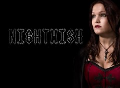 Wallpapers Music Nightwish in Black