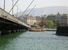 Fonds d'écran Voyages : Europe Le Pont du Mont Blanc